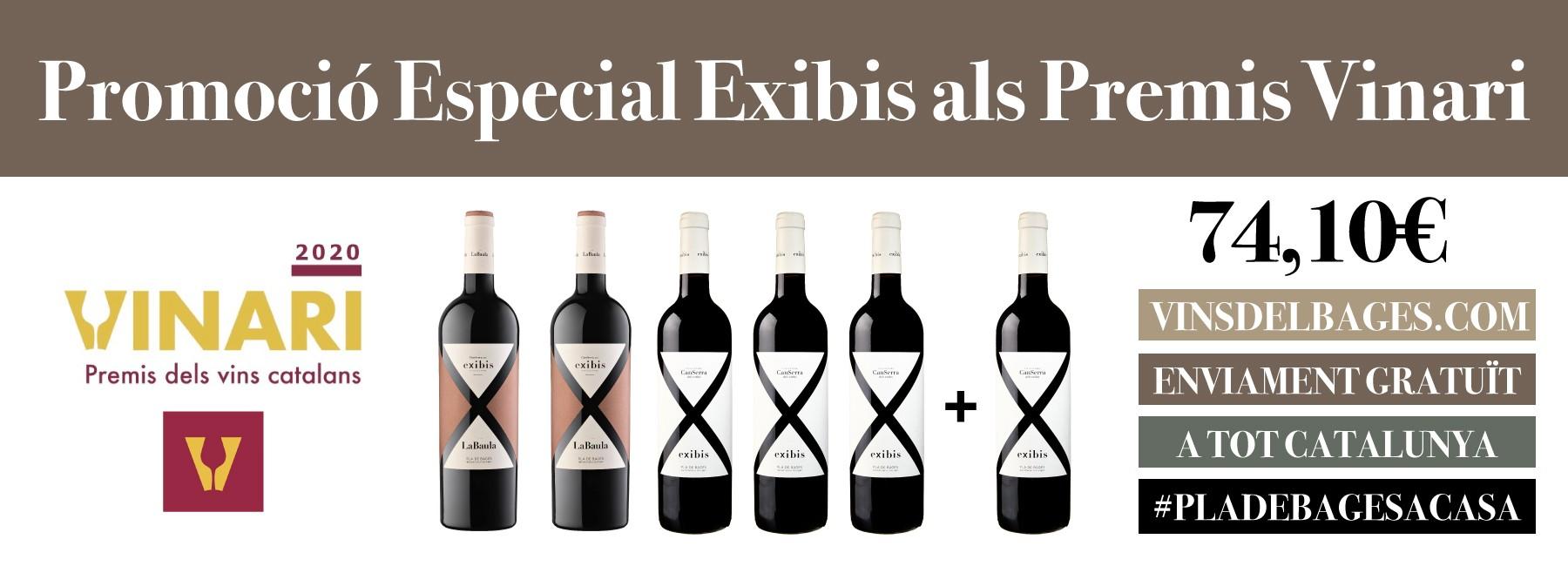 Promoción Exbis en los Premios  Vinari