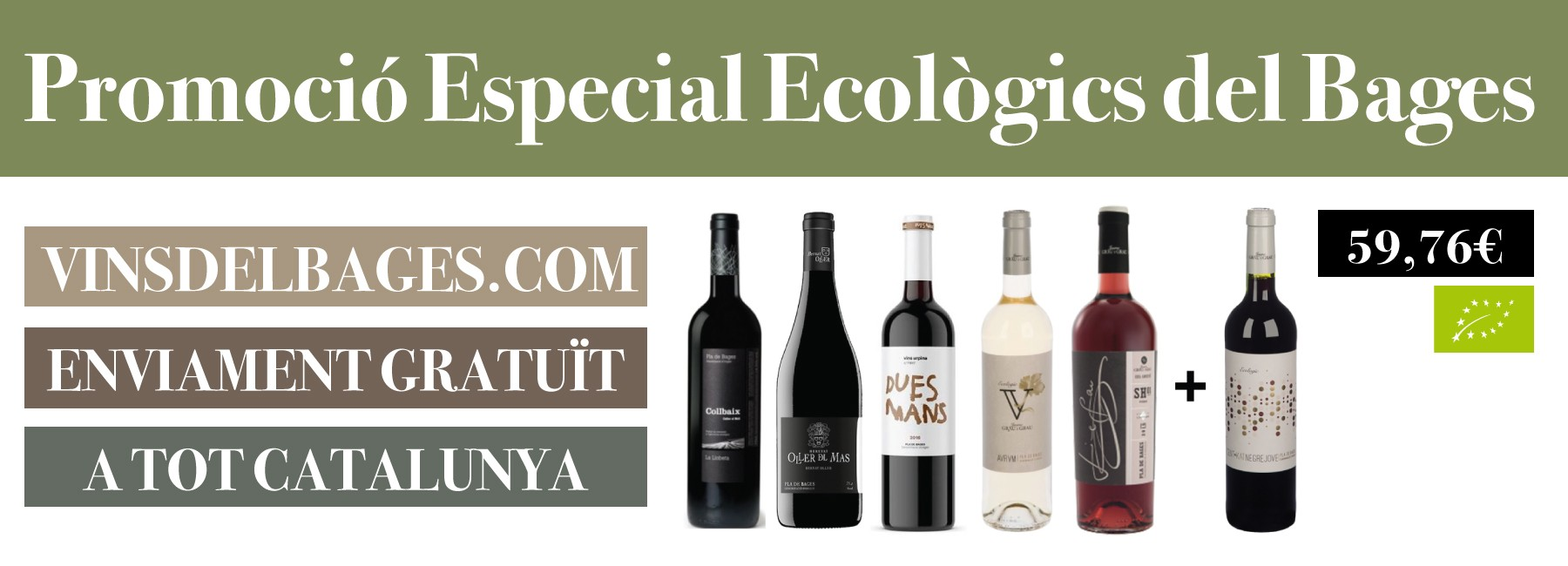 Promoción vinos ecológicos del Bages